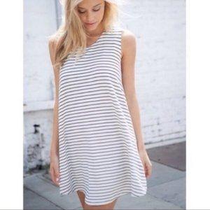Brandy Melville Striped Alena Dress